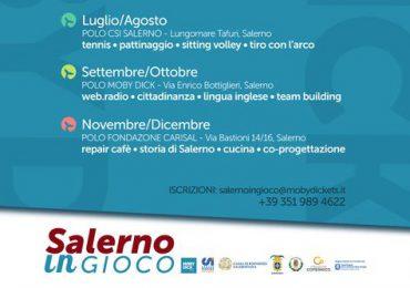 """Evento di apertura delle attività """"Salerno in Gioco"""","""