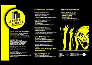 Il Programma - VII edizione SalerNoir Festival le notti di Barliario