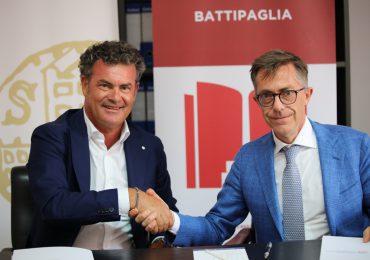 Sottoscrizione del Protocollo d'intesa tra la Fondazione Cassa di Risparmio Salernitana e la Fondazione Cassa Rurale Battipaglia